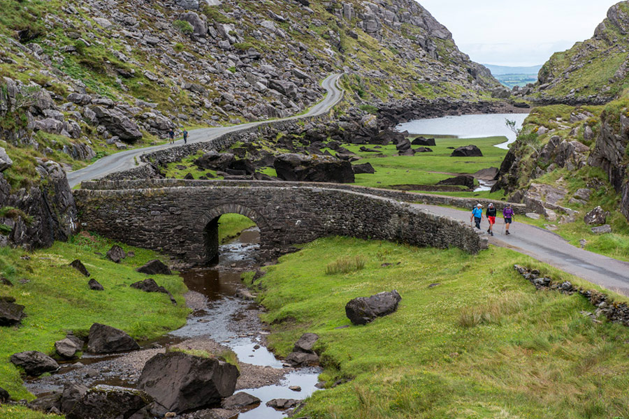 We are a 10-minute drive to the Gap of Dunloe