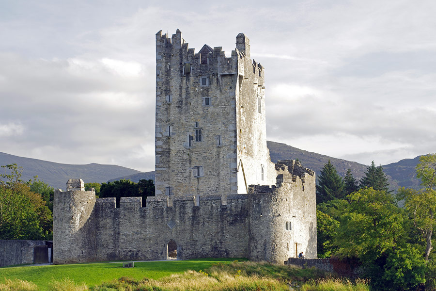 Walk to Ross Castle from the Golden Nugget via the Fossa Way