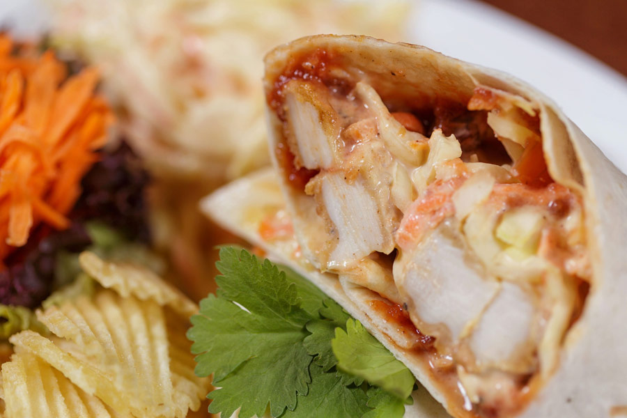 Southern Fried Chicken Wrap